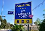 Camping 4 étoiles Fréjus - Camping Les Lauriers Roses-2