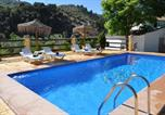 Location vacances Moraleda de Zafayona - Villa with 6 bedrooms in Montefrio with wonderful mountain view private pool furnished terrace-1