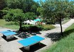Camping avec Piscine couverte / chauffée Najac - Camping La Truffiere à Saint Cirq Lapopie-4