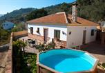 Location vacances Benamargosa - Holiday home with private pool near Andalusian village Comares, Malaga-1