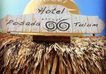 Hôtel Tulum - Hotel Posada 06 Tulum-2