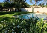 Location vacances Coudoux - Villa with 4 bedrooms in Lambesc with private pool enclosed garden and Wifi 30 km from the beach-4