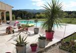Location vacances Pourrières - Chambres d'hôtes chez Cécile et Eric-1
