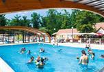 Camping avec Parc aquatique / toboggans Centre - Camping La Grande Tortue-2