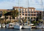 Hôtel 4 étoiles Sanary-sur-Mer - Hotel Helios - Ile des Embiez