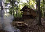 Location vacances Saint-Casimir - Les cabines Nordik des piles-1