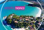 Hôtel Ubatuba - Hostel Trópico de Capricórnio - Praia Grande-1