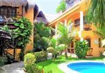 Hôtel Playa del Carmen - Hotel Bosque Caribe, 5th Av. zone