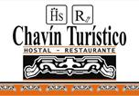Location vacances Huaraz - Hostal Restaurante Chavin Turistico-1