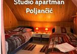 Location vacances Brod Moravice - Studio Apartman Poljančić-1