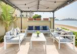 Location vacances Dubaï - Fabulous Beachfront Palm Villa Private Pool-4