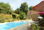 Location vacances Mazeyrolles - Modern Holiday Home in Besse with Swimming Pool-3