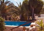 Location vacances Algaida - Finca Randa, Llucmayor, bis 3 Sz, Pool, Garten-2
