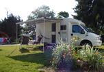 Camping avec Piscine couverte / chauffée Biesheim - Camping Sites et Paysages Au Clos De La Chaume-3