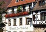 Hôtel Grünstadt - Weinkastell Zum Weissen Ross-2