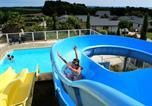 Camping avec Parc aquatique / toboggans Bretagne - Camping Les Jardins de Kergal-3