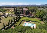 Location vacances Lucignano - Lucignano Villa Sleeps 12 Pool Wifi-1