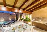 Location vacances Pollença - Pollenca Villa Sleeps 8 with Pool Air Con and Wifi-4