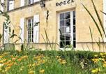 Hôtel Beurlay - Logis Domaine du Prieuré-4