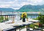 Location vacances San Felice del Benaco - Casa Azzurra con vista lago e spiaggia privata.-1