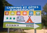 Camping avec Piscine La Douze - Camping d'Auberoche-2
