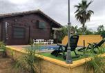 Location vacances La Lantejuela - Cabaña de madera El Oasis del Palomar-3