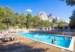 Camping avec Piscine La Roque-d'Anthéron - Camping Vallée Heureuse-1