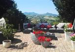 Location vacances Poggio San Marcello - House with 2 bedrooms in Cupramontana with enclosed garden and Wifi 35 km from the beach-3