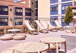 Hôtel Lloret de Mar - Checkin Caribe Youth Hotel-4