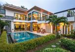 Location vacances Pa Khlok - Tropical Pool Villa l King-beds Garage Gym Beach-1
