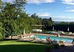 Location vacances Castelfiorentino - Sun-Kissed Apartment in Castelfiorentino with Swimming Pool-4