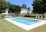 Hôtel Vouneuil-sur-Vienne - Chambres d'Hôtes Le Château de la Plante-2