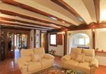 Location vacances Castell-Platja d'Aro - Platja d'Aro Villa Sleeps 8 Pool Wifi-4
