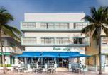 Hôtel Miami Beach - Penguin Hotel-3