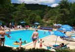 Camping avec Piscine couverte / chauffée Marcillac-Saint-Quentin - Camping La Castillonderie-1