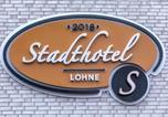 Hôtel Dinklage - Stadthotel Lohne-2