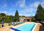 Location vacances Villefranche-du-Périgord - Charming Holiday Home in Saint-Cernin-de-l'Herm with Pool-1