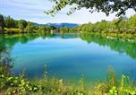 Camping avec Hébergements insolites Drôme - Camping le Lac Bleu-3