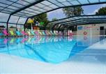 Camping avec Ambiance club Ault - Camping Des 3 Tilleuls-1
