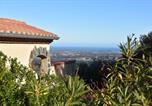 Location vacances Saint-Génis-des-Fontaines - Villa Josephine: Vue magnifique sur mer et montagnes-1