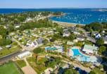 Camping avec Site de charme Bretagne - Le Cabellou Plage-1