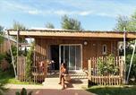 Camping avec Parc aquatique / toboggans Hérault - Les Méditerranées - Beach Garden-4