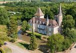 Camping avec Piscine couverte / chauffée Lalinde - Château de Fonrives-2