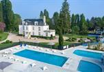 Camping avec Spa & balnéo France - Château des Marais-3