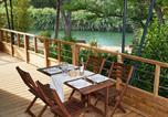 Camping avec Hébergements insolites Bormes-les-Mimosas - Ecolodge L'Etoile d'Argens-4