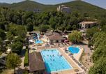 Camping avec Accès direct plage Rhône-Alpes - La Bastide en Ardèche-1