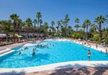 Camping  Acceptant les animaux Antibes - La Baume-4