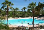 Camping  Acceptant les animaux Antibes - La Baume-2
