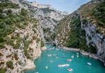 Camping  Acceptant les animaux Alpes-de-Haute-Provence - La Farigoulette-3