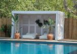 Camping avec Hébergements insolites Toulon - La Plage d'Argens-3